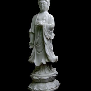 White Statue Carving