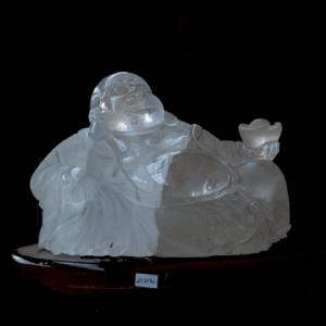 White Buddha Carving
