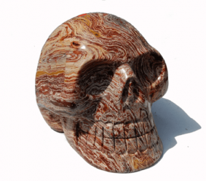 Skull Marble Carving