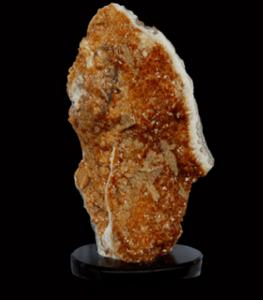 Citrine Geode Decor