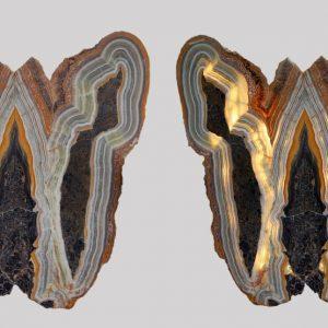 Geode Lamps Angel Wings
