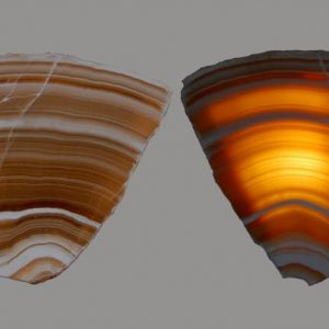Geode Lamps Butterfly