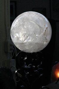 Quartz White Sphere