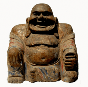 Rare Buddha Specimen Statue Bronze