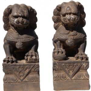 Specimen Rare Fudogs Bronze