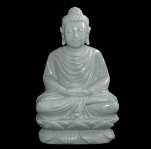 White Marble Statute Specimen