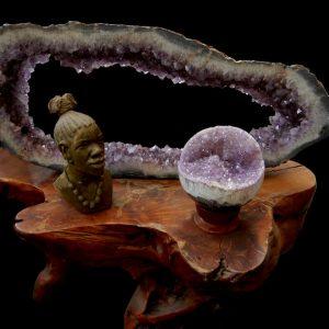 Amethyst Rings Sphere