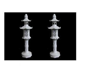 Pair Of Lantern Statues