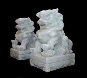 Marble White Fudogs