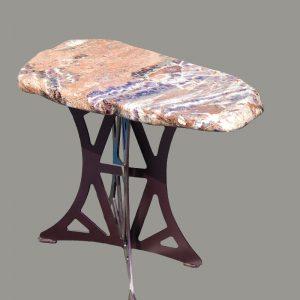 AMETHYST SLAB TABLE
