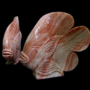 Fish Marble Home Decor