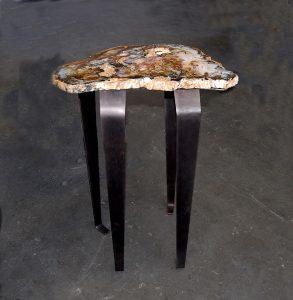 Agate Table Decor